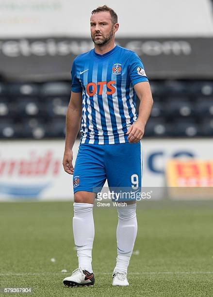 Kris Boyd of Kilmarnock during the Betfred Cup First Round between Kilmarnock Football Club and Morton at Rugby Park on July 23 2016 in Kilmarnock...