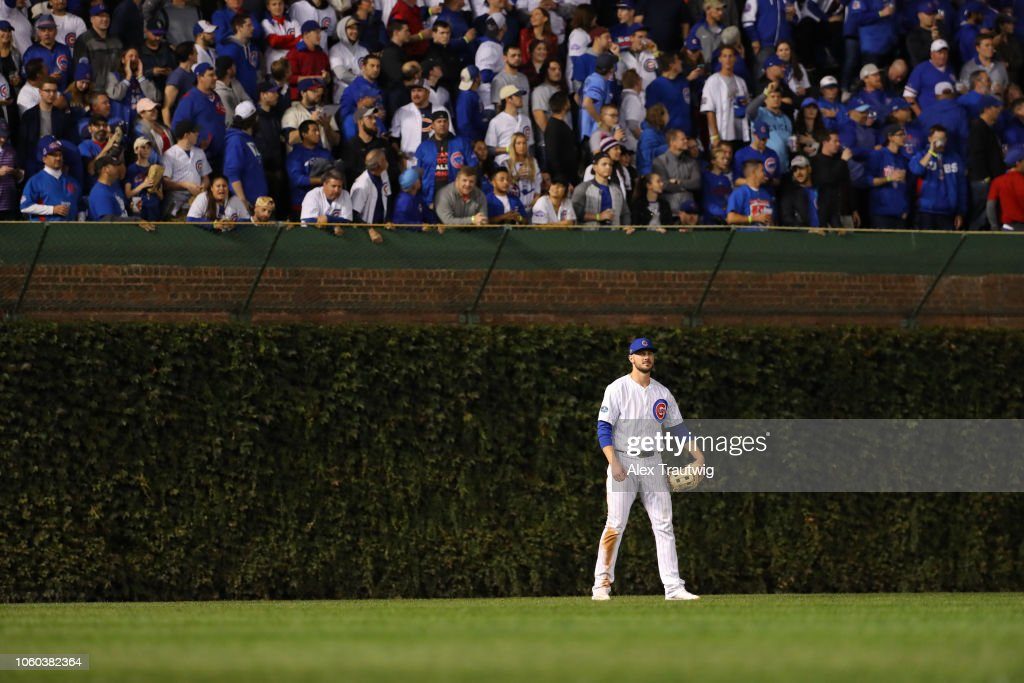 National League Wild Card Game: Colorado Rockies v. Chicago Cubs : News Photo