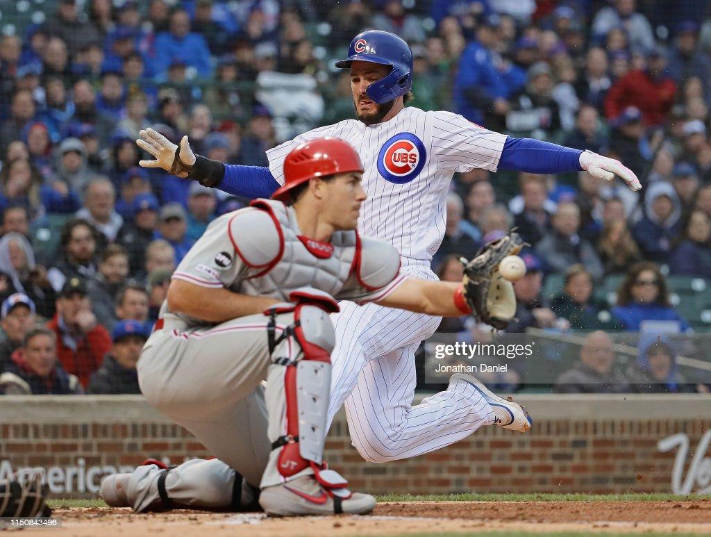 IL: Philadelphia Phillies v Chicago Cubs