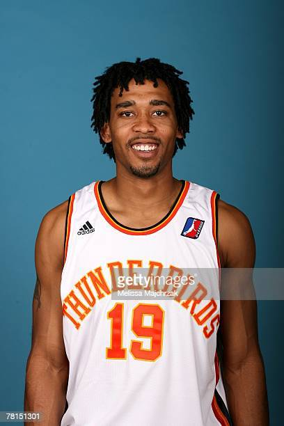 Kris Collins of the Albuquerque Thunderbirds poses for a portrait during DLeague media day on November 13 2007 at the Open Court in Lehi Utah NOTE TO...
