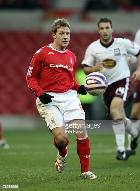 Kris Commons of Nottingham Forest in action during the Coca Cola League One Match between Nottingham Forest and Northampton Town at The City Ground...