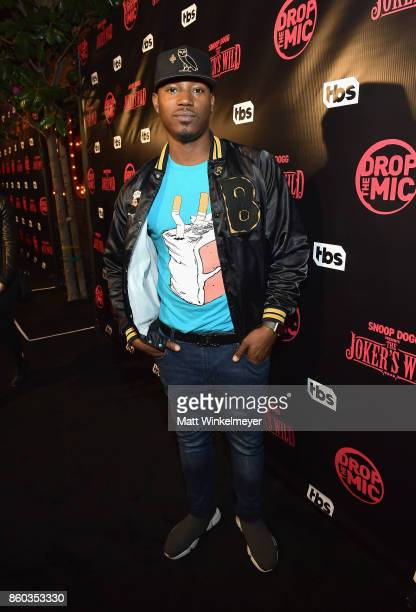 Kris D Lofton TBS' Drop the Mic and The Joker's Wild Premiere Party at Dream Hotel on October 11 2017 in Hollywood California Shoot ID 26854_010