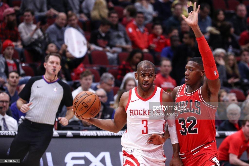 Chicago Bulls V Houston Rockets - NBA : News Photo