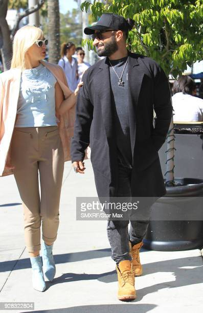 Kris Fade and Megan Pormer are seen on March 6 2018 in Los Angeles California