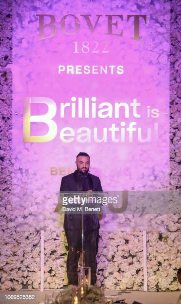 Kris Fade attends the Artists for Peace and Justice Bovet 1822 Gala on December 7 2018 in Dubai United Arab Emirates Photo by David M Benett/Dave...