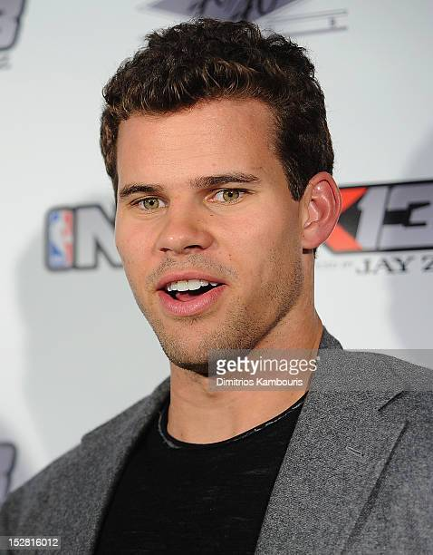 Kris Humphries attends NBA 2K13 Premiere Launch Party at 40 / 40 Club on September 26 2012 in New York City