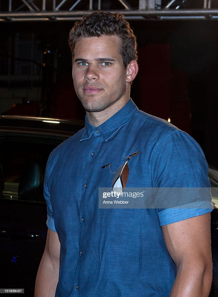 Kris Humphries attends the GQ, Chrysler, And John Varvatos Celebrate The Launch Of The 2013 Chrysler 300C on September 11, 2012 in New York City.