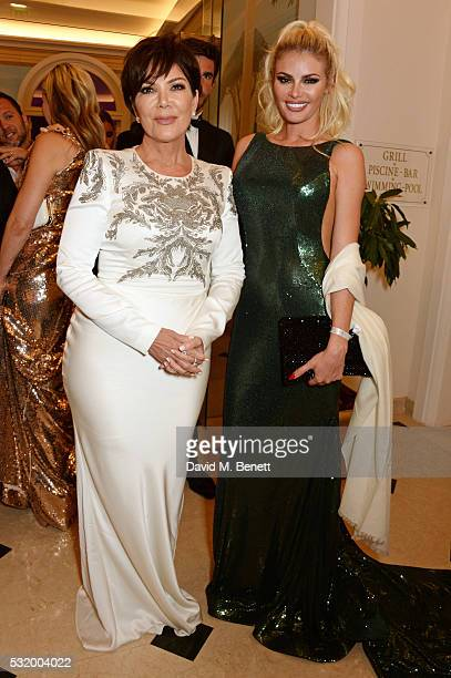 Kris Jenner and Chloe Sims attend the de Grisogono party during the 69th Cannes Film Festival at Hotel du CapEdenRoc on May 17 2016 in Cap d'Antibes...