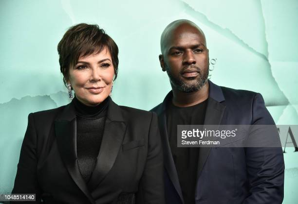 Kris Jenner and Corey Gamble attend the 2018 Tiffany Co Blue Book Gala on October 9 2018 in New York City