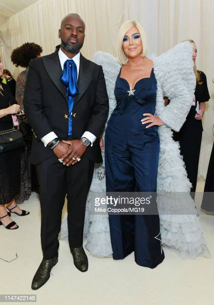 Kris Jenner and Corey Gamble attend The 2019 Met Gala Celebrating Camp Notes on Fashion at Metropolitan Museum of Art on May 06 2019 in New York City