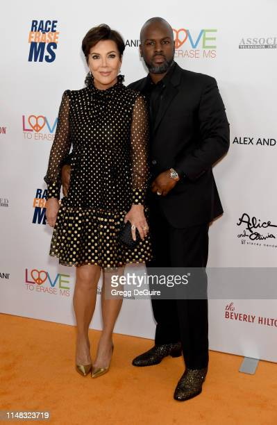 Kris Jenner and Corey Gamble attend the 26th Annual Race to Erase MS Gala at The Beverly Hilton Hotel on May 10 2019 in Beverly Hills California