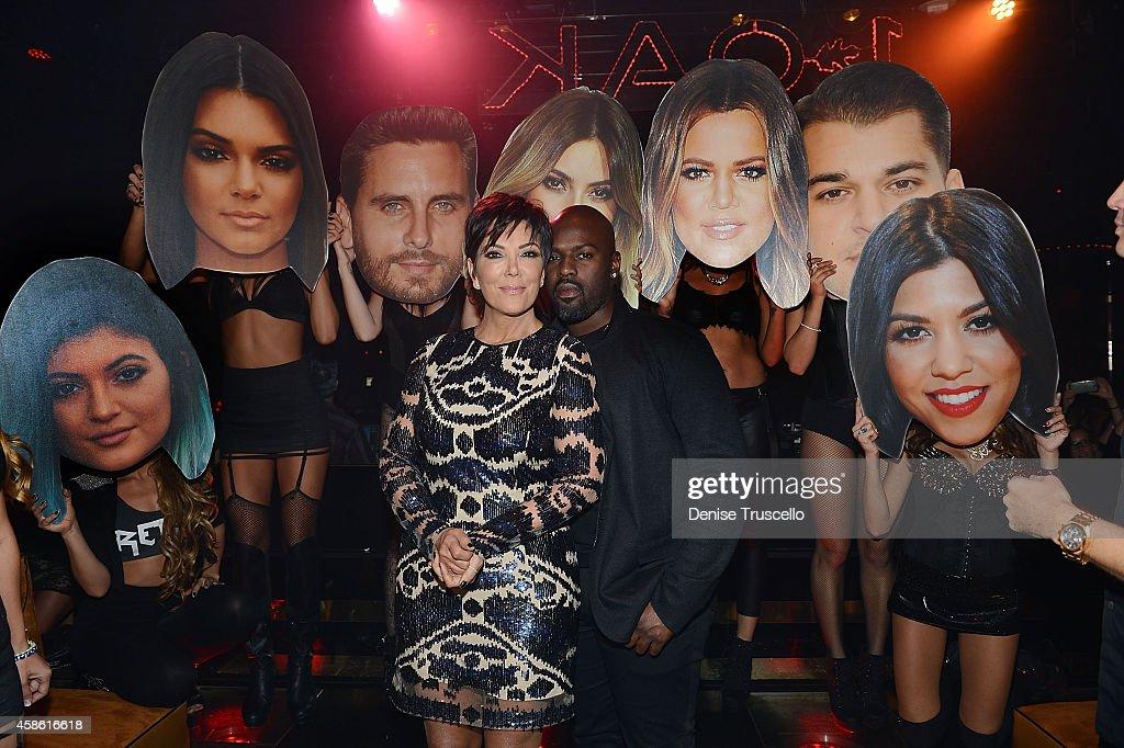 Kris Jenner Celebrates Birthday At 1 OAK Nightclub At The Mirage