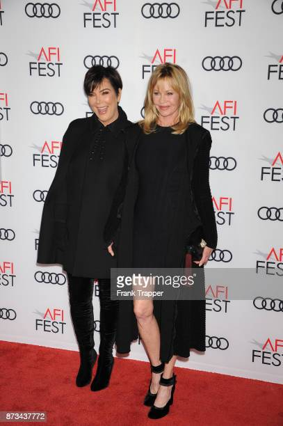 Kris Jenner and Melanie Griffith attend the screening of 'The Disaster Artist ' at AFI FEST 2017 presented by Audi at TCL Chinese Theatre on November...