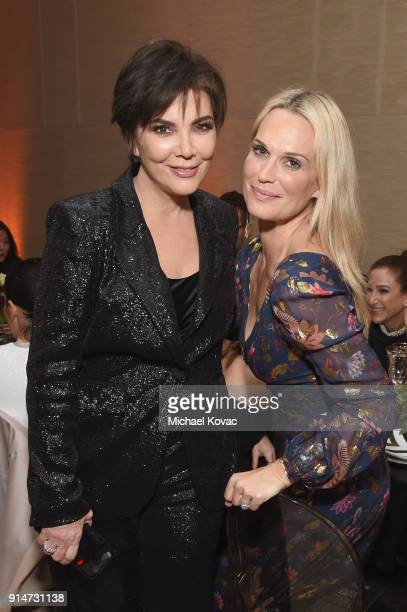 Kris Jenner and Molly Sims celebrate with Belvedere Vodka at the Rachel Zoe Fall 2018 Presentation in Los Angeles CA