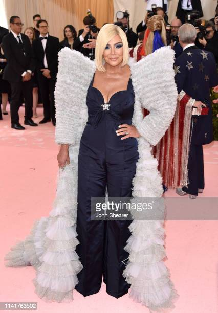 Kris Jenner arrives at the 2019 Met Gala Celebrating Camp Notes On Fashion at The Metropolitan Museum of Art on May 6 2019 in New York City