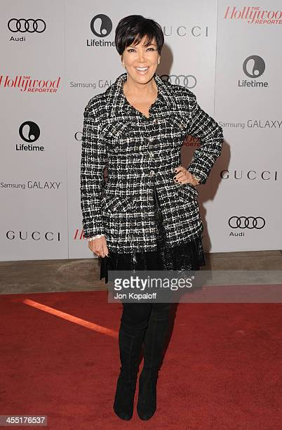 Kris Jenner arrives at The Hollywood Reporter's 22nd Annual Women In Entertainment Breakfast 2013 at Beverly Hills Hotel on December 11 2013 in...