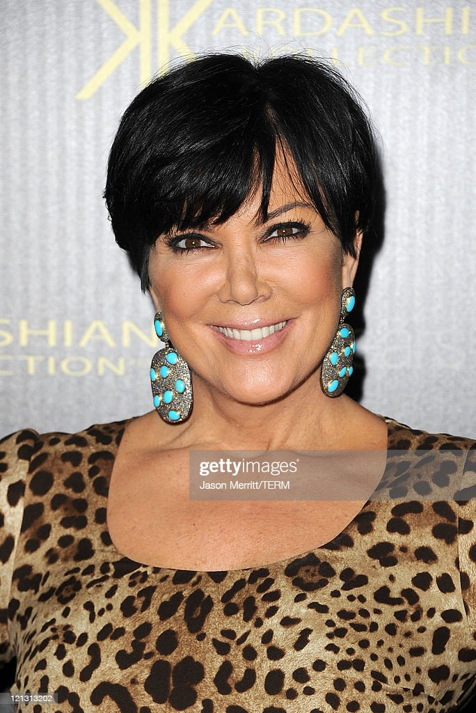 Kris Jenner arrives at the red carpet of the Kardashian Kollection Launch Party on August 17, 2011 in Hollywood, California.