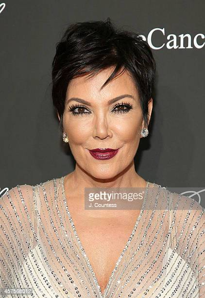 Kris Jenner attends Angel Ball 2014 at Cipriani Wall Street on October 20 2014 in New York City