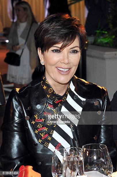 Kris Jenner attends as Neiman Marcus celebrates the exclusive #OnlyatNM KENDALL KYLIE Collection at Neiman Marcus on March 31 2016 in Beverly Hills...