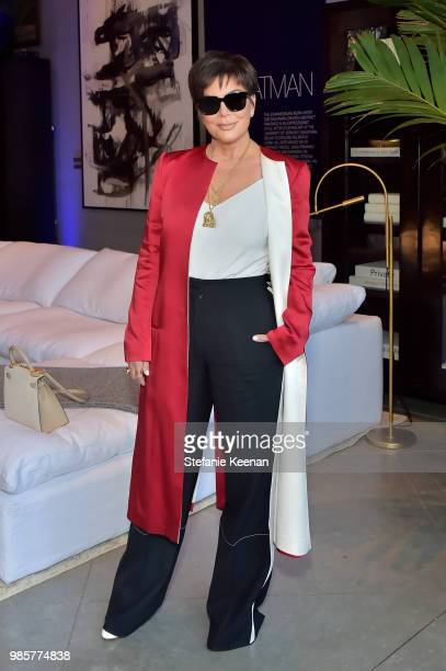 Kris Jenner attends GENERAL PUBLIC x RH Celebration at Restoration Hardware on June 27 2018 in Los Angeles California