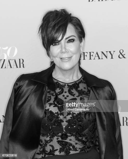 Kris Jenner attends Harper's BAZAAR 150th Anniversary Event presented with Tiffany Co at The Rainbow Room on April 19 2017 in New York City