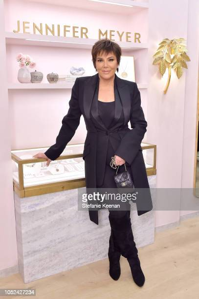 Kris Jenner attends Jennifer Meyer Celebrates First Store Opening in Palisades Village At The Draycott With Gwyneth Paltrow And Rick Caruso on...