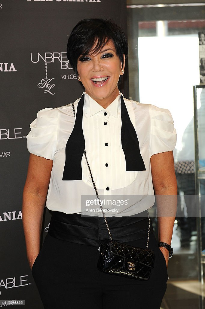 Kris Jenner attends Lamar Odom and Khloe Kardashian Odom's personal appearance to promote their 'Unbreakable Bond' fragrance at Perfumania on June 7, 2012 in Orange, California.