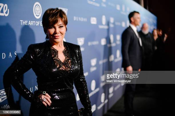 Kris Jenner attends Michael Muller's HEAVEN presented by The Art of Elysium on January 05 2019 in Los Angeles California