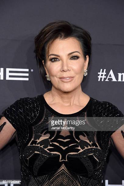 Kris Jenner attends the 2016 Angel Ball hosted by Gabrielle's Angel Foundation For Cancer Research on November 21 2016 in New York City