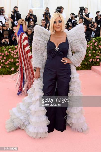 Kris Jenner attends The 2019 Met Gala Celebrating Camp Notes on Fashion at Metropolitan Museum of Art on May 06 2019 in New York City