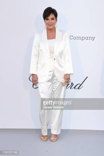 Kris Jenner attends the amfAR Cannes Gala 2019 at Hotel du CapEdenRoc on May 23 2019 in Cap d'Antibes France