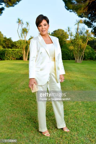 Kris Jenner attends the amfAR Cannes Gala 2019 at Hotel du Cap-Eden-Roc on May 23, 2019 in Cap d'Antibes, France.