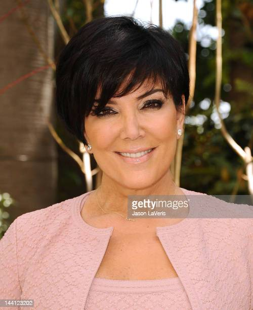 Kris Jenner attends the Associates For Breast And Prostate Cancer Studies' Mother's Day luncheon at Four Seasons Hotel Los Angeles at Beverly Hills...