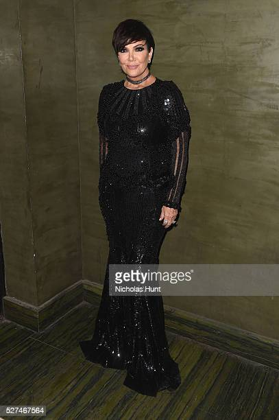 Kris Jenner attends the Balmain and Olivier Rousteing after the Met Gala Celebration on May 02 2016 in New York New York
