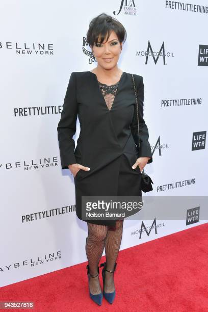 Kris Jenner attends The Daily Front Row's 4th Annual Fashion Los Angeles Awards at Beverly Hills Hotel on April 8 2018 in Beverly Hills California