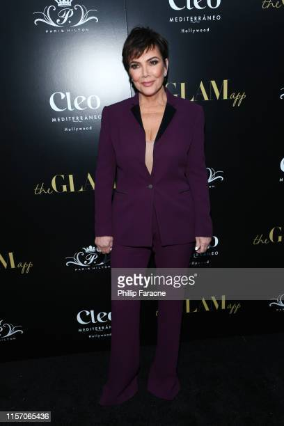 Kris Jenner attends The Glam App Celebration Event at Cleo on June 19 2019 in Hollywood California