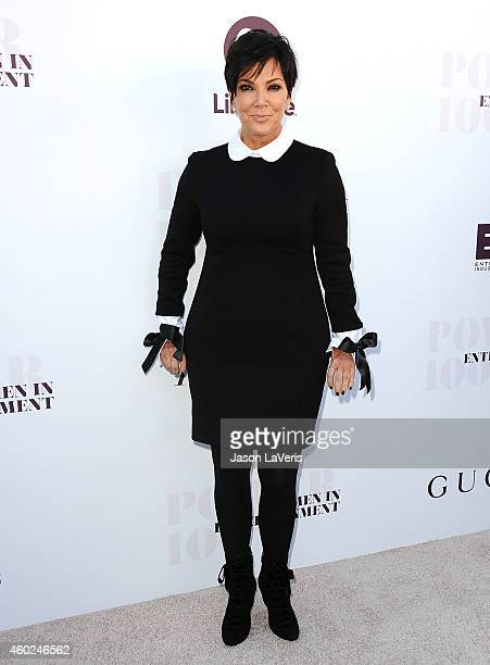 Kris Jenner attends the Hollywood Reporter's Women In Entertainment breakfast at Milk Studios on December 10, 2014 in Los Angeles, California.
