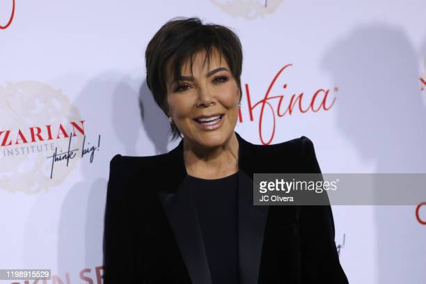 Kris Jenner attends the Nazarian Institute's ThinkBIG 2020 Conference featuring keynote speaker Kris Jenner at 1 Hotel West Hollywood on January 11,...
