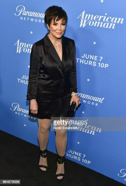 Kris Jenner attends the premiere of Paramount Network's 'American Woman' at Chateau Marmont on May 31 2018 in Los Angeles California