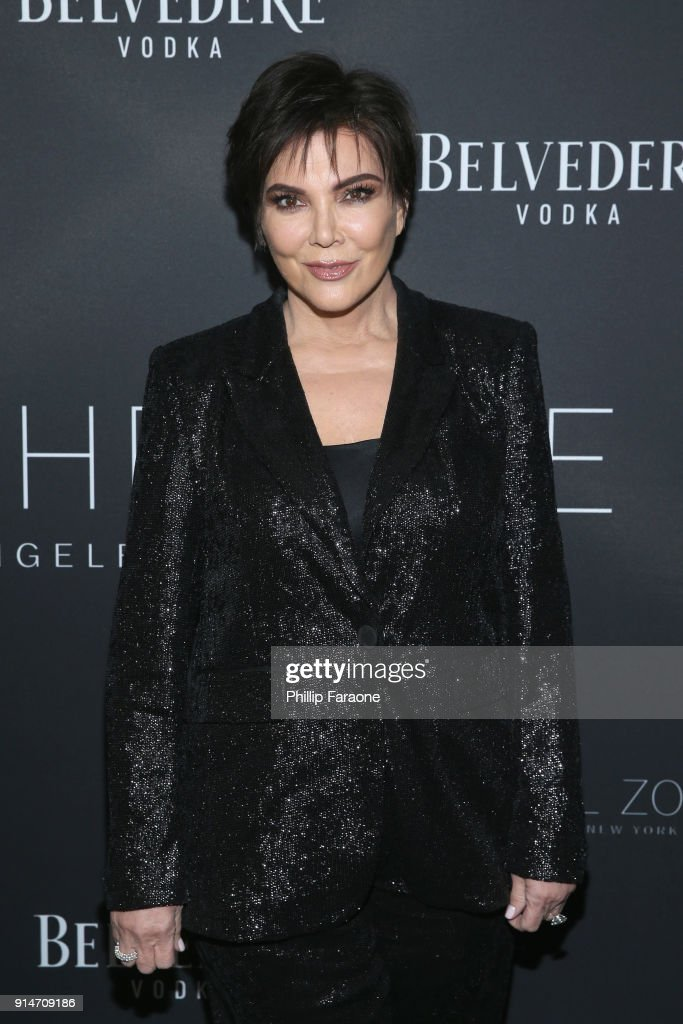 Kris Jenner attends The Rachel Zoe Fall 2017 LA Presentation at The Jeremy Hotel on February 5, 2018 in West Hollywood, California.