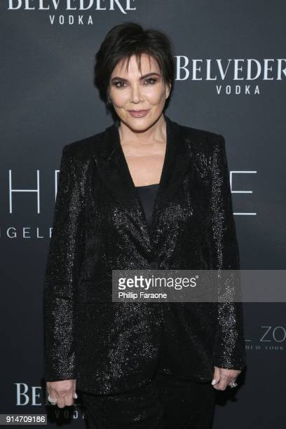 Kris Jenner attends The Rachel Zoe Fall 2017 LA Presentation at The Jeremy Hotel on February 5 2018 in West Hollywood California