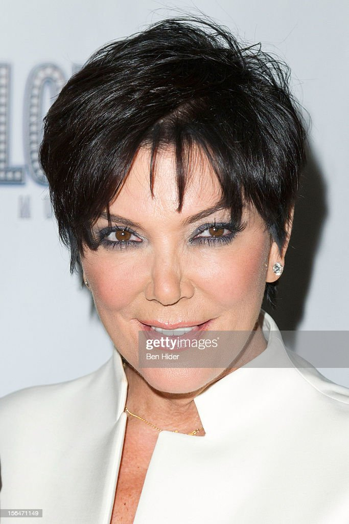 Kris Jenner attends the 'Scandalous' Broadway Opening Night at Neil Simon Theatre on November 15, 2012 in New York City.