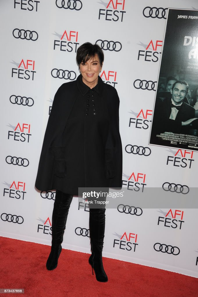 Kris Jenner attends the screening of 'The Disaster Artist ' at AFI FEST 2017 presented by Audi at TCL Chinese Theatre on November 12, 2017 in Hollywood, California.