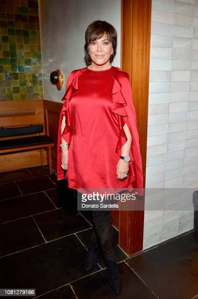 Kris Jenner attends the Tamara Mellon Palisades Village Opening Party at Blue Ribbon Sushi on December 11 2018 in Pacific Palisades California