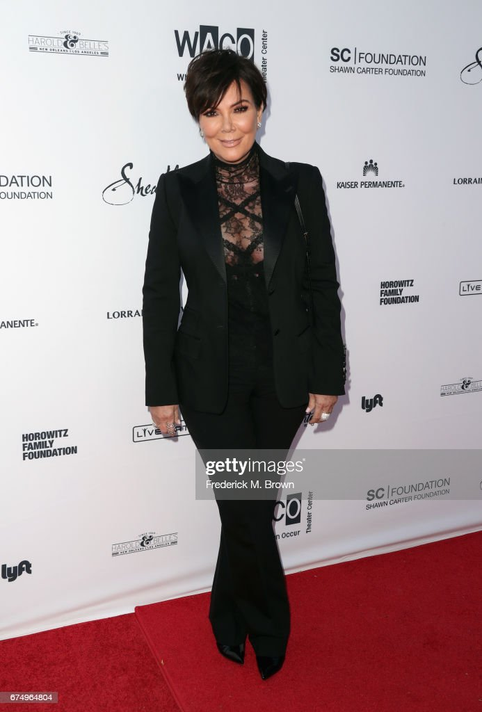 Kris Jenner attends the Wearable Art Gala at California African American Museum on April 29, 2017 in Los Angeles, California.