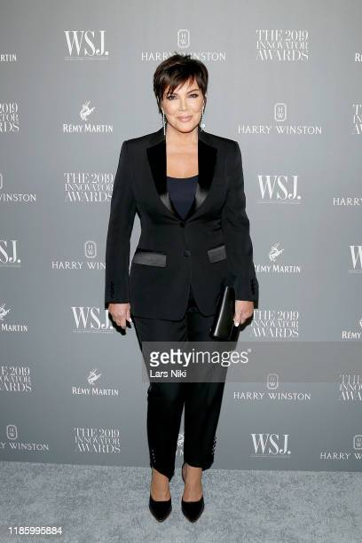 Kris Jenner attends the WSJ Magazine 2019 Innovator Awards sponsored by Harry Winston and Rémy Martinat MOMA on November 06 2019 in New York City