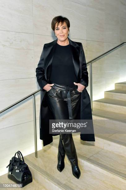 Kris Jenner attends Tom Ford: Autumn/Winter 2020 Runway Show at Milk Studios on February 07, 2020 in Los Angeles, California.