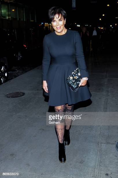 Kris Jenner attends V Magazine honors Karl Lagerfeld event at The Top of The Standard on October 23 2017 in New York City