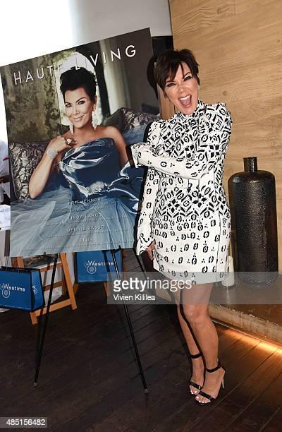 Kris Jenner attends Westime Celebrates Kris Jenner's Haute Living Cover at Nobu Malibu on August 24 2015 in Malibu California