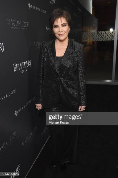 Kris Jenner celebrates with Belvedere Vodka at the Rachel Zoe Fall 2018 Presentation in West Hollywood California